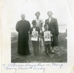 Confirmation St. Lawrence Parish, Deux Rivières c.1958