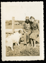 Couple on Mackey Station Homestead