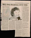 Mary Ellen Boudreau (1919-1996)