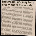 Driftwood Park may be Finally out of the Woods