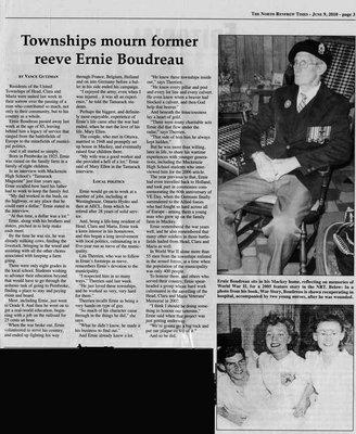 Ernie Boudreau Remembered