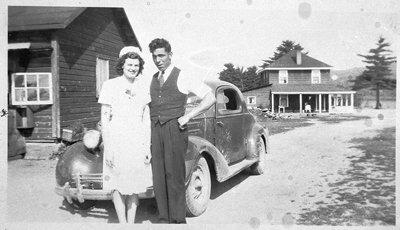 Doris and Elmer Donnelly, Mackey.