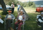 Seniors Picnic at Old Mackey's Park c. June 1985