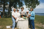 Women Around a Well c.1985