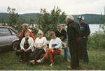 Group at Seniors Picnic, Old Mackey's Park c.1985