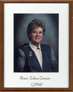 Colleen Clarriere, Reeve, Head, Clara and Maria Township c. 1998