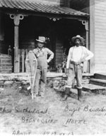 Sutherland and Beaudry c.1912-1913
