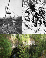 Mica Mine, Mackey Then and Now