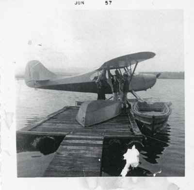 Roy Cochrane's Float Plane
