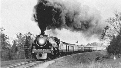 CPR Steam Train