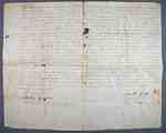 Land Indenture between Smith Griffin and Ebenezer Collver- 1812