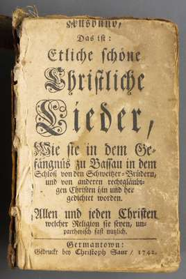 Bible (German)- 1742