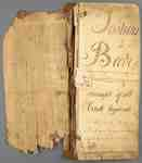 Account Book of Joshua Beebe- 1816