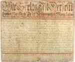 Fraktur Writing Exercise- 1811