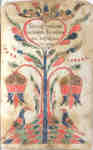 Fraktur Bookplate- 1801&nbsp;
