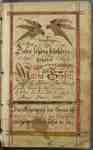 Fraktur Book Belonging to Maria Grosin- 1791