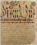 Fraktur Writing Exercise- 1790