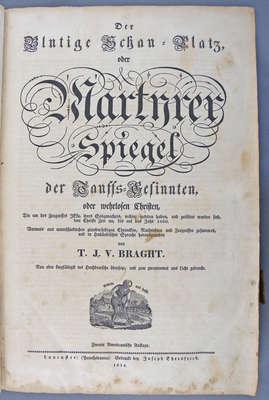 Martyr's Mirror Book- 1814