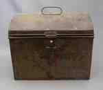 Pennsylvania German Tolework Deed Box- c. 1820