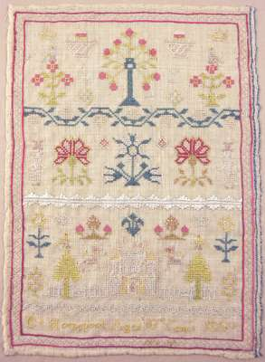 E. Horsepool Sewing Sampler- 1810