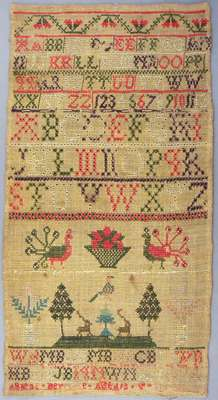 Sewing Sampler- 1802