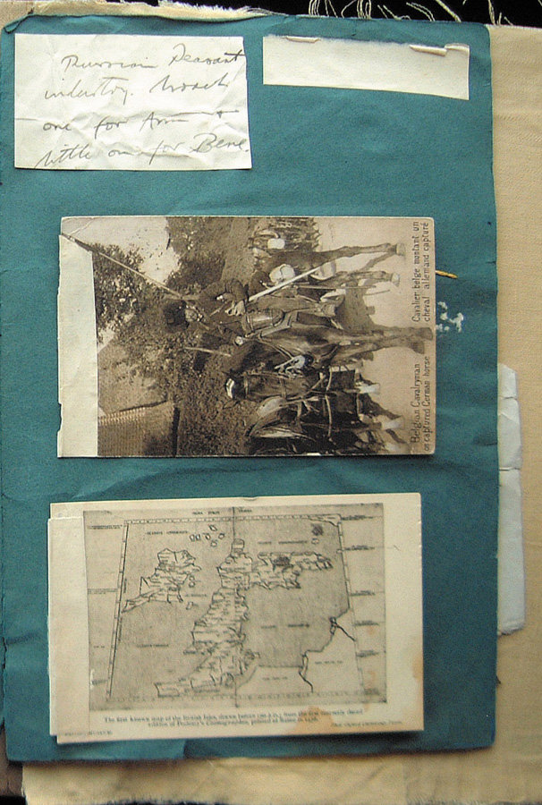 WWI Scrapbook - Hugh Salvin Calverley