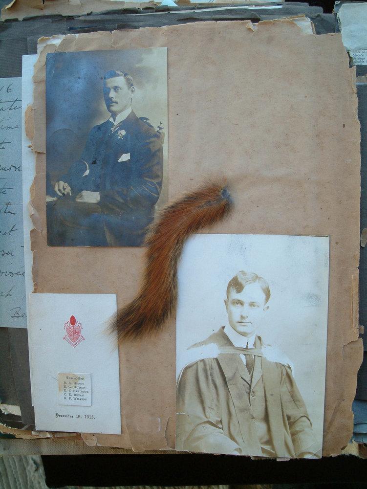WWI Scrapbook - Hugh Salvin Calverley