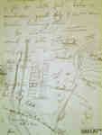 Map of Camp in pencil