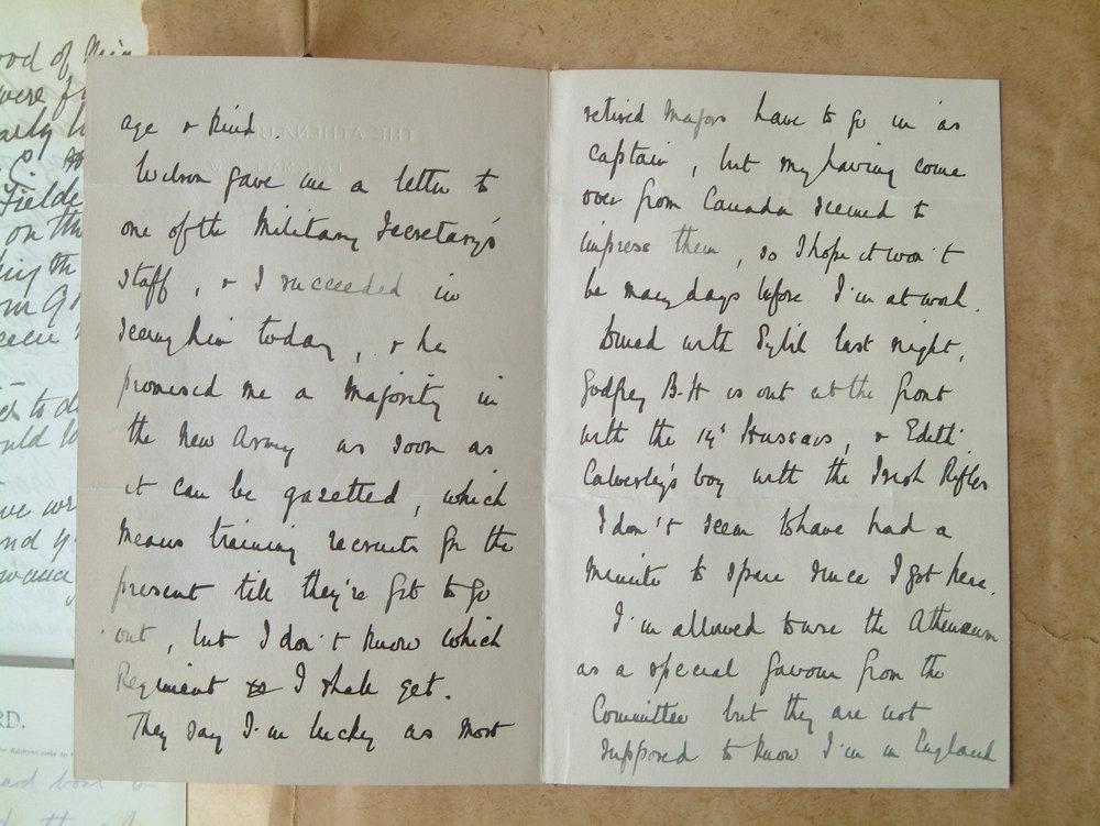 Letter - I've been spending...