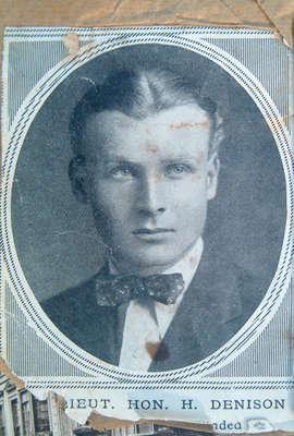 Lieut. Hon H. Denison wounded