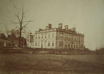 Oulton Hall brown Sepia
