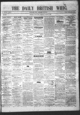 Daily British Whig (1850), 12 Jan 1854