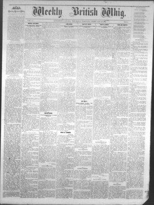 Weekly British Whig (1859), 10 Feb 1881