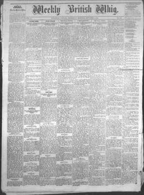 Weekly British Whig (1859), 6 Oct 1881