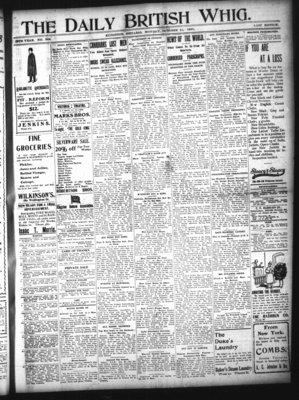 Daily British Whig (1850), 21 Oct 1901