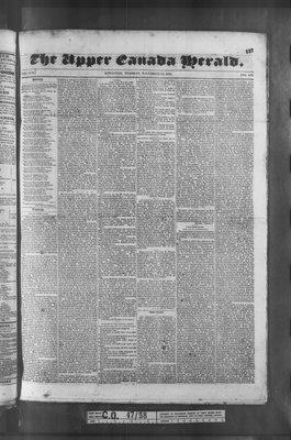 Upper Canada Herald (Kingston1819), 24 Nov 1835