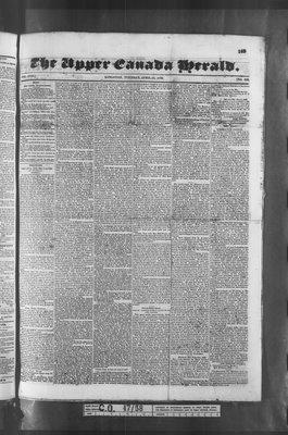 Upper Canada Herald (Kingston1819), 12 Apr 1836