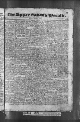 Upper Canada Herald (Kingston1819), 3 May 1836