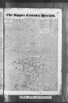 Upper Canada Herald (Kingston1819), 10 May 1836