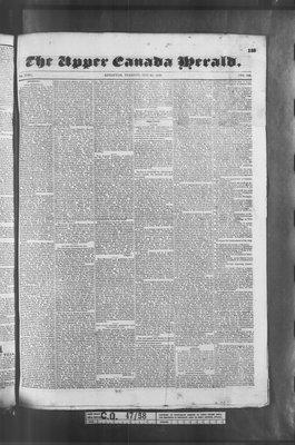 Upper Canada Herald (Kingston1819), 31 May 1836