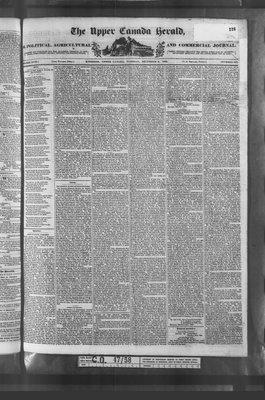 Upper Canada Herald (Kingston1819), 6 Dec 1836