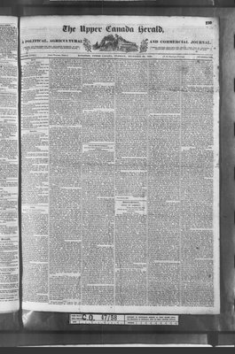 Upper Canada Herald (Kingston1819), 20 Dec 1836