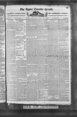 Upper Canada Herald (Kingston1819), 4 Apr 1837