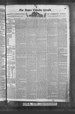 Upper Canada Herald (Kingston1819), 9 May 1837