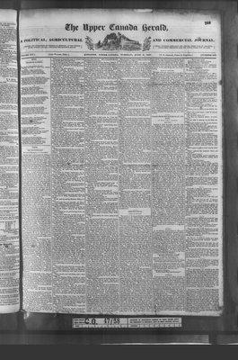 Upper Canada Herald (Kingston1819), 6 Jun 1837