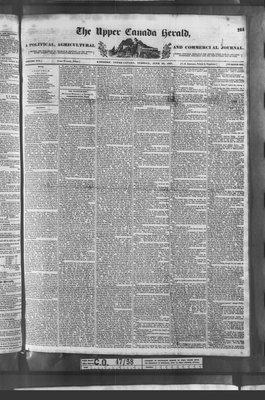 Upper Canada Herald (Kingston1819), 20 Jun 1837