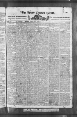 Upper Canada Herald (Kingston1819), 12 Sep 1837