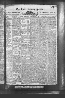 Upper Canada Herald (Kingston1819), 31 Oct 1837