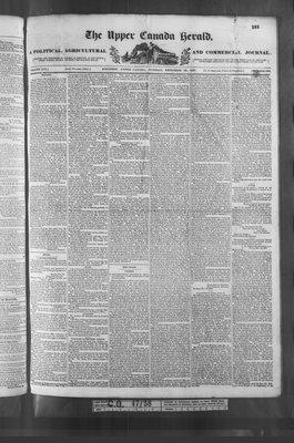 Upper Canada Herald (Kingston1819), 26 Dec 1837