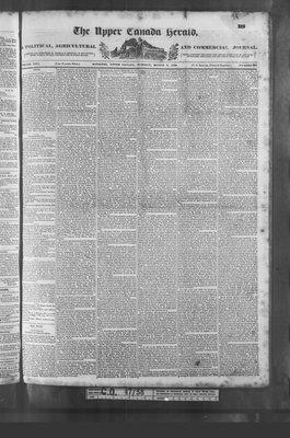 Upper Canada Herald (Kingston1819), 6 Mar 1838